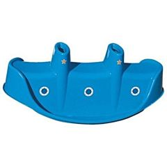 Качалка трехместная Palplay Пароход (Синий)
