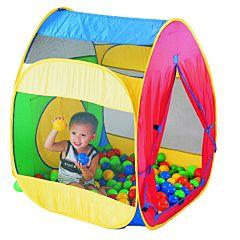 Детская палатка Calida с шарами Домик
