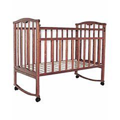 Кроватка-качалка Агат Золушка-1 (Вишня)