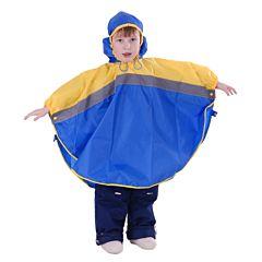 Дождевик детский Чудо-Чадо Светлячок (р.110-116) (Синий-желтый)