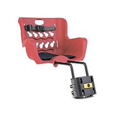 Велокресло на руль Bellelli Pulcino B-Fix до 15 кг (красное)