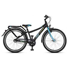 """Подростковый велосипед Puky Crusader 24-3 Alu City light 24"""" (black/lagoon)"""