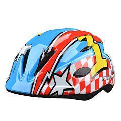 Шлем Runbike Inmold (красно-синий)