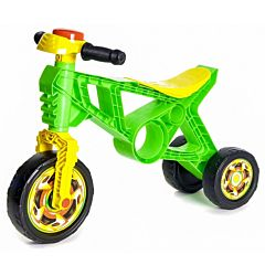 Беговел-мотоцикл RT Самоделкин ОР171 с клаксоном (зеленый)