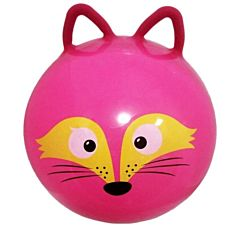 Гимнастический мяч Moby Kids Лисёнок с ушками (45 см)