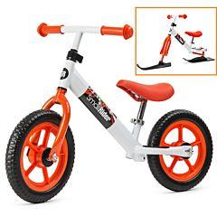 Беговел Small Rider Combo Racer с лыжами (оранжевый)