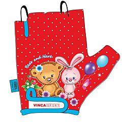 Велоперчатки Vinca Sport для ребенка 3-5 лет (Bear and Hare)