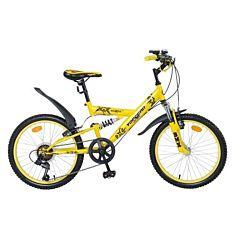"""Велосипед Top Gear Boxer с надувными колесами 20"""" (желтый)"""