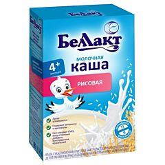 Каша сухая молочная рисовая Беллакт (с 4 мес.) 200 г