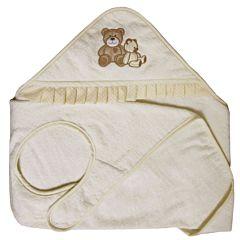 Полотенце-фартук Polini Плюшевые мишки (Бежевый)