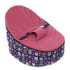 Кокон для новорожденных Feter Baby Bean Bag до 30 кг (розовый)