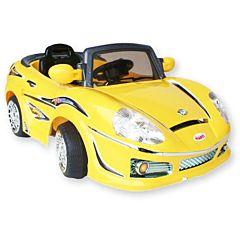 Электромобиль Jetem Roadster 698R с пультом управления (желтый)