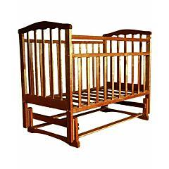 Кроватка детская Агат Золушка-3 (поперечный маятник) (Орех)
