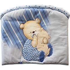Бампер для кроватки Золотой Гусь Мишутка (голубой)