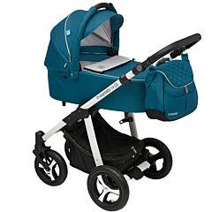 Коляска 2 в 1 Baby Design Lupo Comfort New (бирюзовая)
