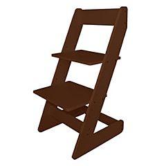 Растущий стул Бемби с лакокрасочным покрытием (коричневый)