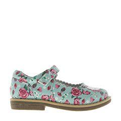 Туфли детские Hello Kitty 6026B для девочек (голубые)