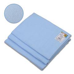 Пеленка Baby Care фланель 120х90см (3 шт) голубой