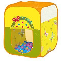 Детская палатка Ching-Ching с шарами Бабочки Квадрат