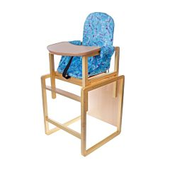 Стул-стол для кормления Вилт Алекс (голубой)