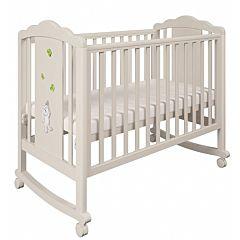 Кроватка детская Polini Classic 621 (бежевая)