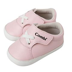 Пинетки Combi Baby Infant Shoe (розовые) 11