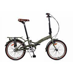 Велосипед складной Shulz Goa Coaster (2017) хаки
