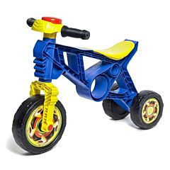 Беговел-мотоцикл RT Самоделкин ОР171 с клаксоном (синий)