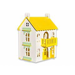 Домик для кукол WoodLines Арина (желтый)