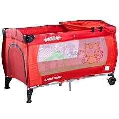 Манеж-кровать Caretero Medio (красный)