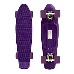"""Мини-круизер Fish Skateboards 22"""" (фиолетовый/фиолетовый)"""