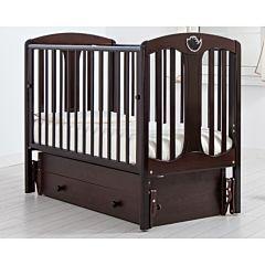 Кроватка детская Гандылян Диана (универсальный маятник) (махагон)