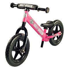"""Беговел Strider 12"""" Sport Harley-Davidson (розовый)"""