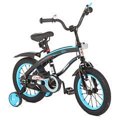 """Детский велосипед Capella 14"""" BM (Черный/Синий)"""