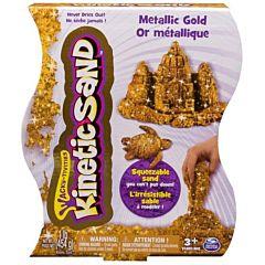 Кинетический песок Kinetic Sand металлик (Золотой)
