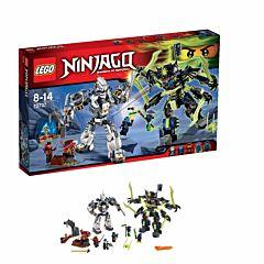 Конструктор Lego Ninjago 70737 Ниндзяго Битва механических роботов