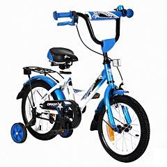 "Детский велосипед Velolider Orion 14"" Белый/Синий"