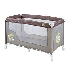 Манеж-кровать Bertoni Lorelli Nanny 2 (бежевый/beige buho 1702)