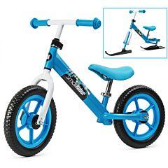 Беговел Small Rider Combo Racer с лыжами (голубой)