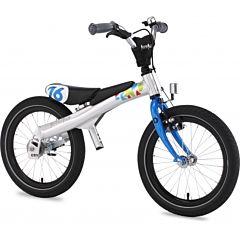"""Беговел-велосипед (2 в 1) Rennrad 16"""" (синий) ДИСКОНТ"""