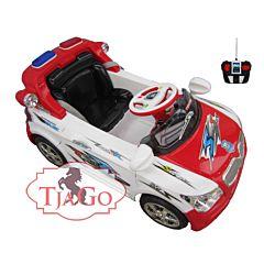 Электромобиль TjaGo BMW Police 20Х8-Yj надув с пультом управления (белый)
