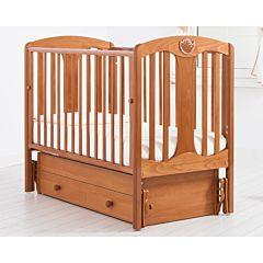 Кроватка детская Гандылян Диана (универсальный маятник) (вишня)
