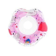 Круг для плавания Roxy Kids Flipper Лебединое озеро (Розовый)