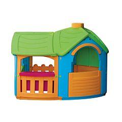 Игровой домик Palplay 662 Вилла с пристройкой (Синий)