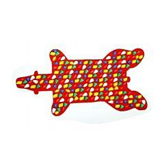 Массажный коврик Onhillsport Медведь 90х45 см