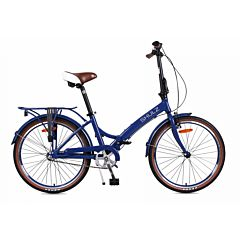 Велосипед складной Shulz Krabi Coaster (2017) темно-синий