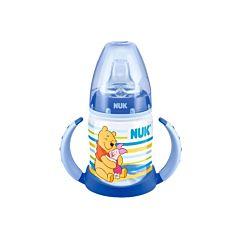 Бутылочка NUK First Choice Disney Winnie the Pooh с насадкой 150 мл (Синий)