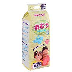 Подгузники-трусики Omutsu XL (12-22 кг) 38 шт