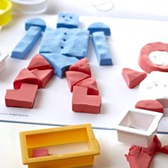 Кинетический песок Bubber Smart Shapes