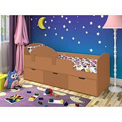 Кровать детская Ярофф Малыш Мини (вишня оксфорд/вишня оксфорд)